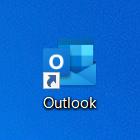 メールソフト「Outlook」を起動